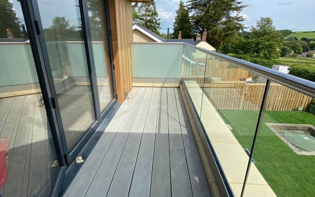 glass balustrade North Dorset