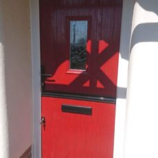 red door by gillingham glass & glazing