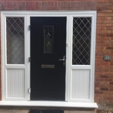 black door by gillingham glass & glazing