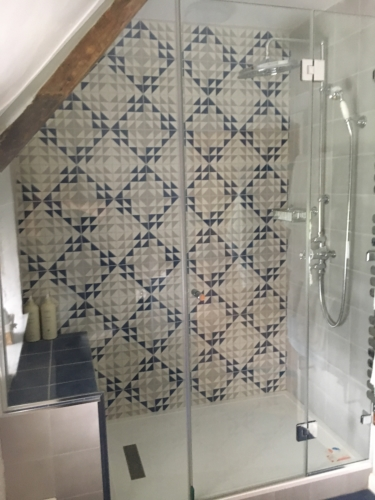 Glass shower screen Westbury