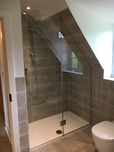 Glass shower screen Gillingham